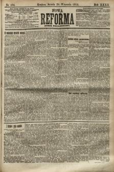 Nowa Reforma (numer popołudniowy). 1913, nr434