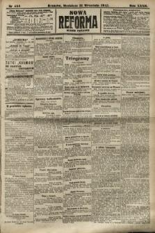 Nowa Reforma (numer poranny). 1913, nr435
