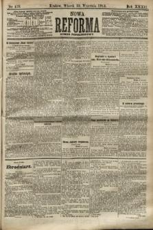 Nowa Reforma (numer popołudniowy). 1913, nr438