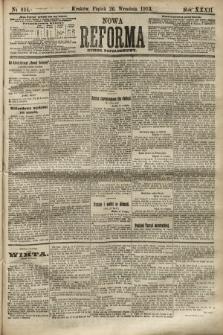 Nowa Reforma (numer popołudniowy). 1913, nr444