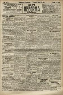 Nowa Reforma (numer poranny). 1913, nr457