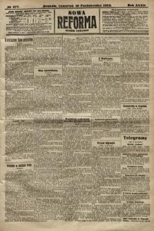 Nowa Reforma (numer poranny). 1913, nr477