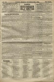Nowa Reforma (numer poranny). 1913, nr483
