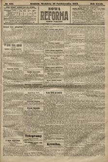 Nowa Reforma (numer poranny). 1913, nr495
