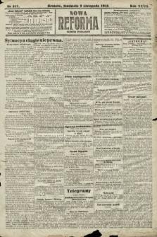 Nowa Reforma (numer poranny). 1913, nr517