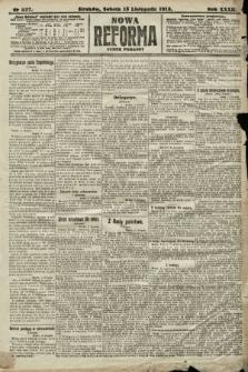 Nowa Reforma (numer poranny). 1913, nr527