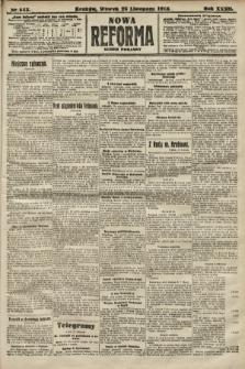 Nowa Reforma (numer poranny). 1913, nr543