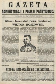 Gazeta Administracjii Policji Państwowej. 1922, nr18
