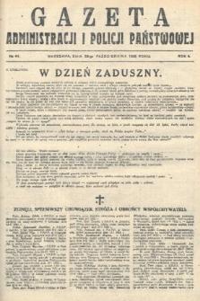 Gazeta Administracjii Policji Państwowej. 1922, nr44