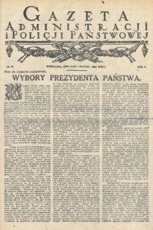 Gazeta Administracjii Policji Państwowej. 1922, nr49