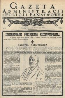 Gazeta Administracjii Policji Państwowej. 1922, nr51