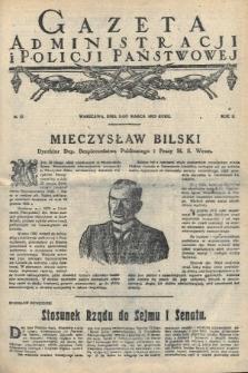 Gazeta Administracjii Policji Państwowej. 1923, nr10