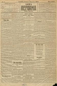 Nowa Reforma (numer poranny). 1908, nr1