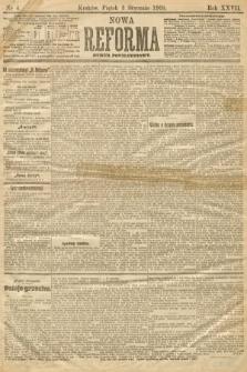 Nowa Reforma (numer popołudniowy). 1908, nr4