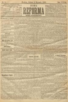 Nowa Reforma (numer popołudniowy). 1908, nr6