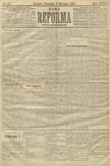 Nowa Reforma (numer popołudniowy). 1908, nr12