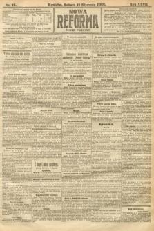 Nowa Reforma (numer poranny). 1908, nr15