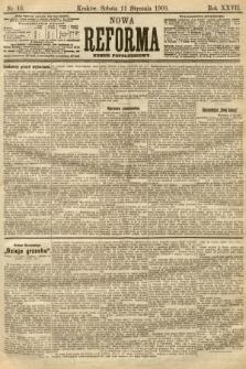 Nowa Reforma (numer popołudniowy). 1908, nr16