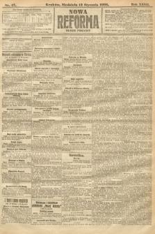 Nowa Reforma (numer poranny). 1908, nr17