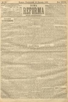 Nowa Reforma (numer popołudniowy). 1908, nr18