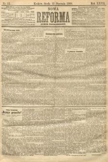 Nowa Reforma (numer popołudniowy). 1908, nr22