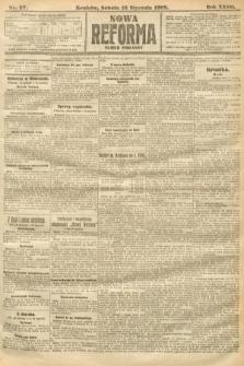 Nowa Reforma (numer poranny). 1908, nr27