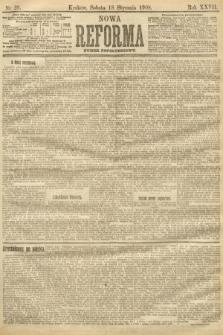 Nowa Reforma (numer popołudniowy). 1908, nr28