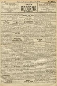 Nowa Reforma (numer poranny). 1908, nr29