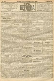 Nowa Reforma (numer poranny). 1908, nr31