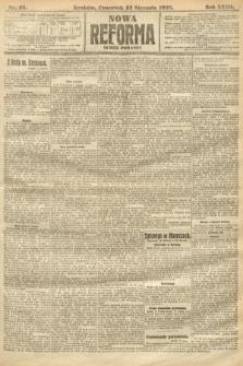 Nowa Reforma (numer poranny). 1908, nr35