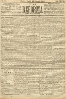 Nowa Reforma (numer popołudniowy). 1908, nr38