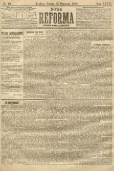 Nowa Reforma (numer popołudniowy). 1908, nr40