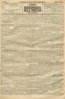 Nowa Reforma (numer poranny). 1908, nr43