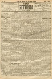Nowa Reforma (numer poranny). 1908, nr49