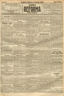 Nowa Reforma (numer poranny). 1908, nr55