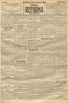 Nowa Reforma (numer poranny). 1908, nr57