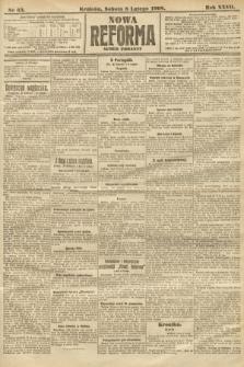 Nowa Reforma (numer poranny). 1908, nr63