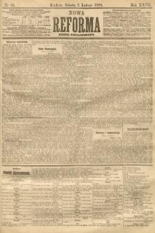 Nowa Reforma (numer popołudniowy). 1908, nr64
