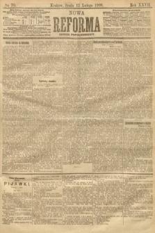 Nowa Reforma (numer popołudniowy). 1908, nr70