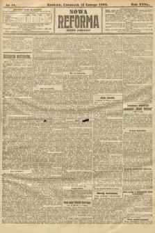 Nowa Reforma (numer poranny). 1908, nr71