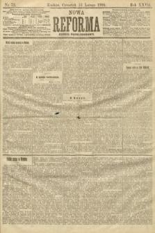 Nowa Reforma (numer popołudniowy). 1908, nr72