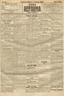 Nowa Reforma (numer poranny). 1908, nr73