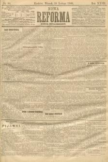 Nowa Reforma (numer popołudniowy). 1908, nr80