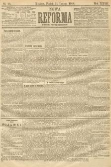 Nowa Reforma (numer popołudniowy). 1908, nr86