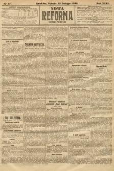 Nowa Reforma (numer poranny). 1908, nr87