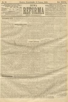 Nowa Reforma (numer popołudniowy). 1908, nr90