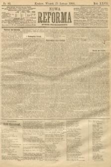 Nowa Reforma (numer popołudniowy). 1908, nr92