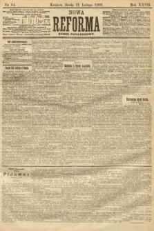 Nowa Reforma (numer popołudniowy). 1908, nr94