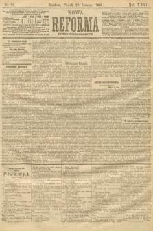 Nowa Reforma (numer popołudniowy). 1908, nr98