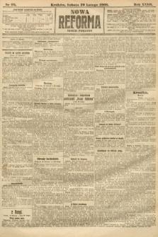 Nowa Reforma (numer poranny). 1908, nr99